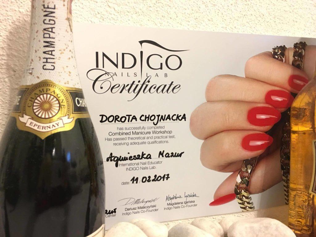 Manicure kombinowany – relacja z warsztatów INDIGO cz.2