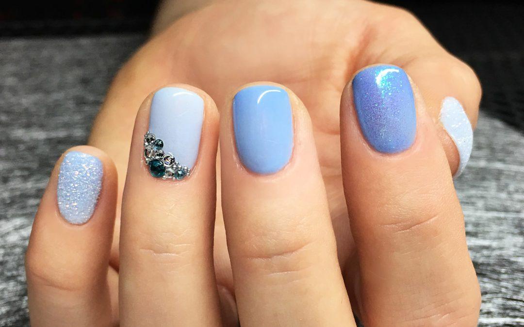 Trójkolorowe lakiery termiczne z Aliexpress – różowy i niebieski Belen