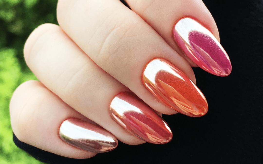 Mirror nails – najlepszy pyłek lustrzany z Aliexpress! Efekt lustra – Idealna tafla!